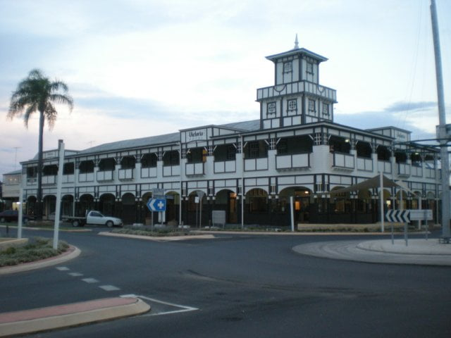 One of the Four Pubs in Goondiwindi