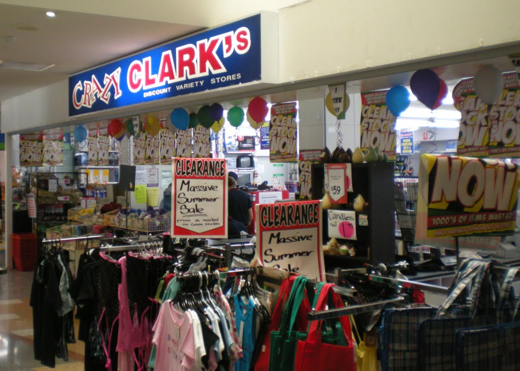 Crazy Clark's Win the Woolworths Lookey-Likey Competition