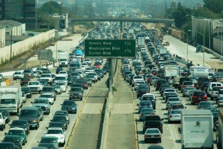 San Diego to L.A. Motorway