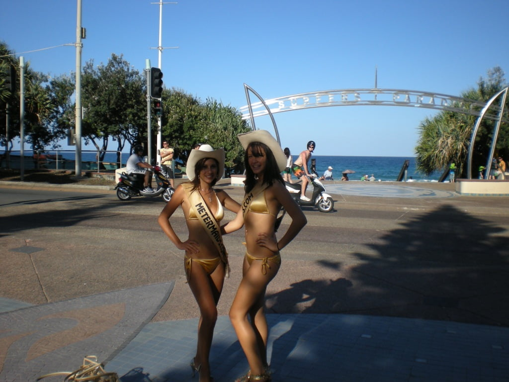 The Meter Maids at Surfers Paradise