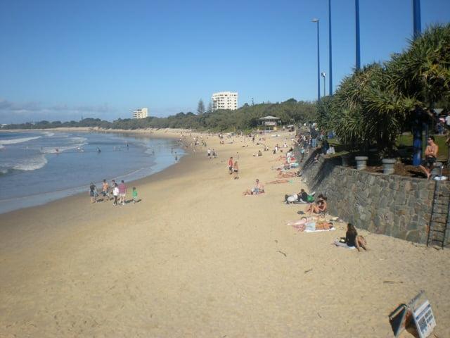 Mooloolaba beach