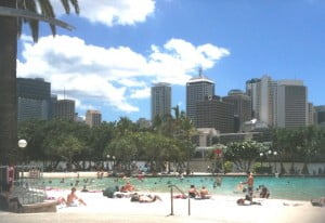 Brisbane's South Bank Parklands