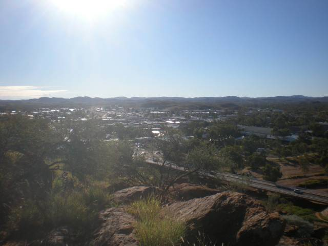 Central Australia overlooking Alice Springs