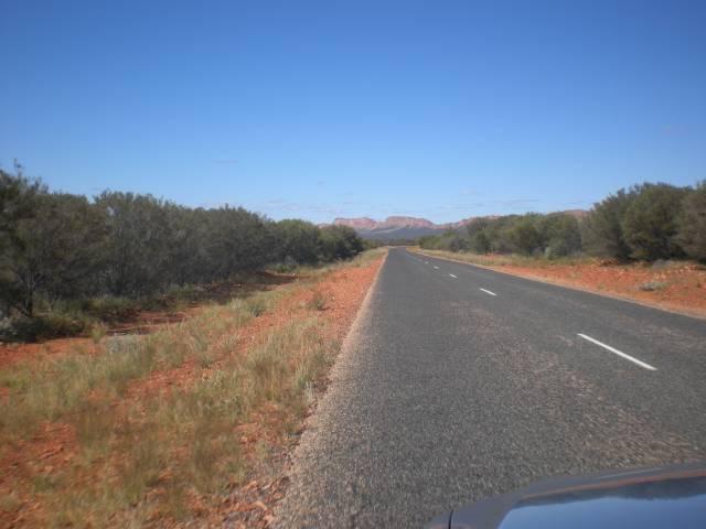 Central Australia roads