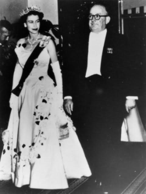 Queen Elizabeth II in Brisbane, Australia, 1954