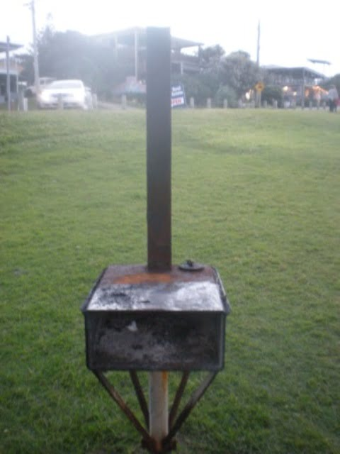 An old barbeque