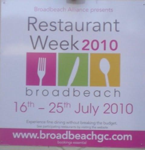 Broadbeach: Restaurant Week