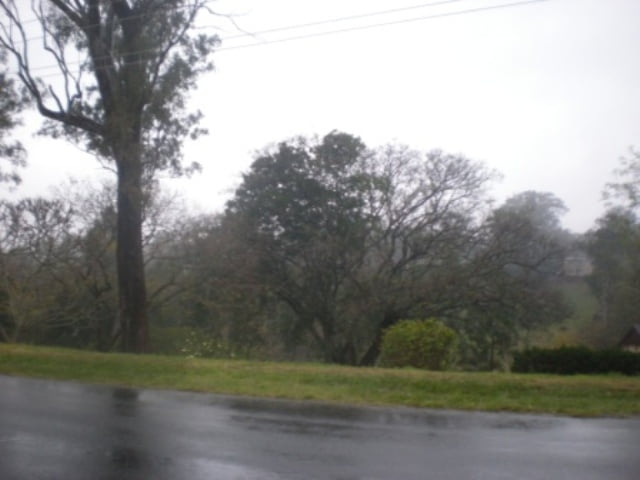 Spring rain in Australia