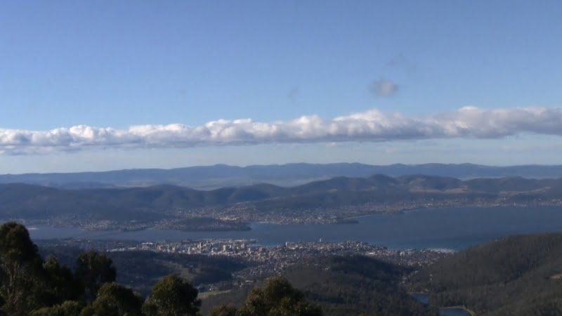 Hobart: A view from Mt Wellington