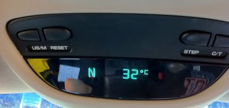 32 degrees