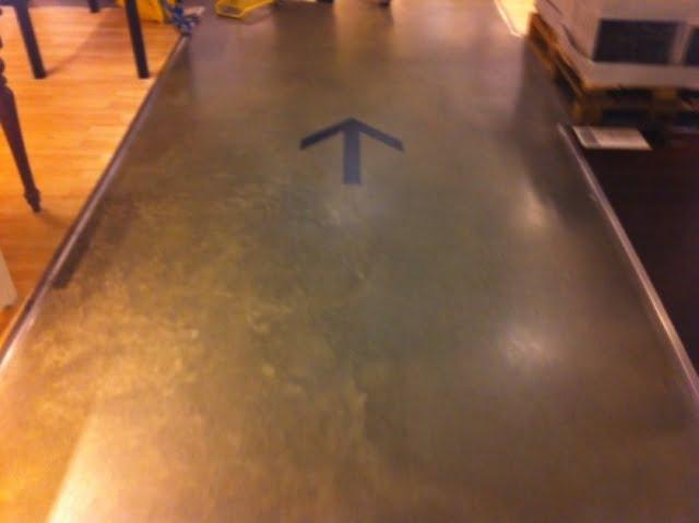 Ikea arrow