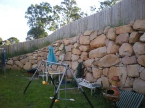 Wall slope