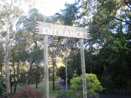 Lone Pine Koala Sanctuary Entrance