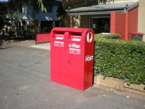 Australia postbox