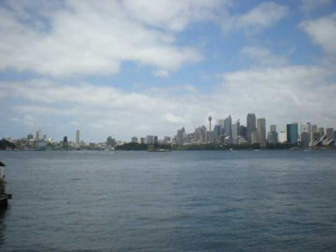 View from ferry point