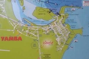 Yamba map