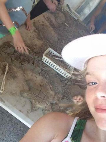 Elizabeth selfie