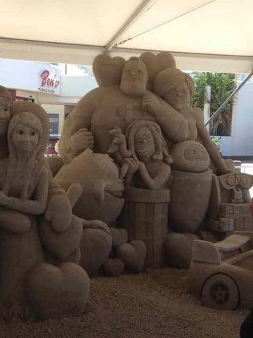 Sand Sculpture  (8)