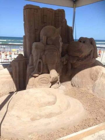 Sand Sculpture  (9)