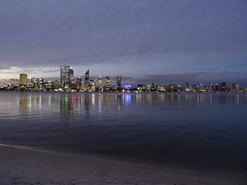 Nighttime Perth