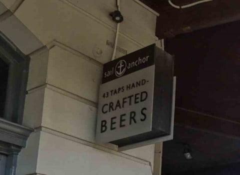 43 tap beers