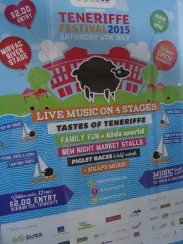 Teneriffe poster