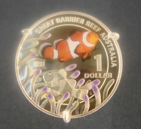 Great Barrier Reef coin