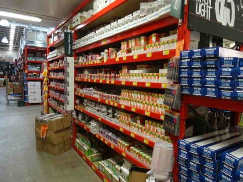 Hardware store bulbs