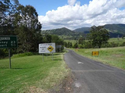 Queensland border