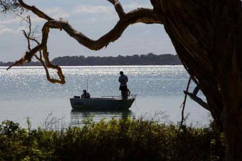 Macleay Island boat