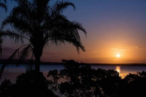 Macleay Island sunset