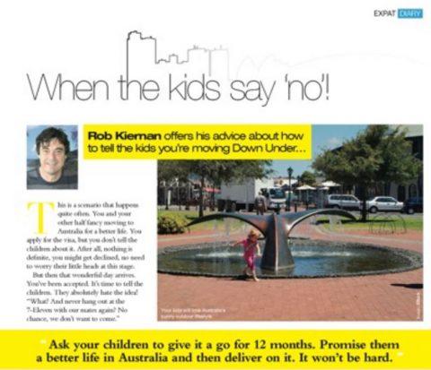 Kids say no