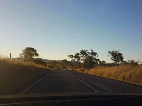 Road to Gladstone