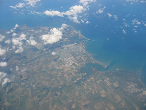 Mackay from the air
