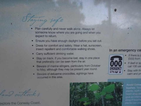 park-warning-sign