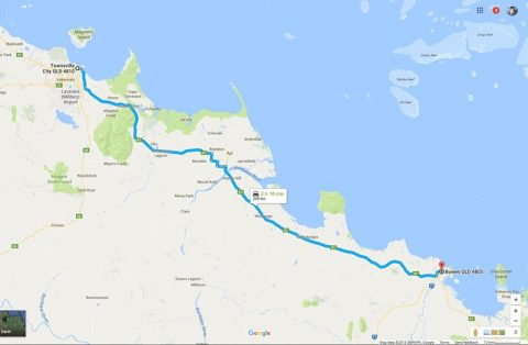 Bowen to Townsville