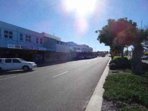 Bowen town