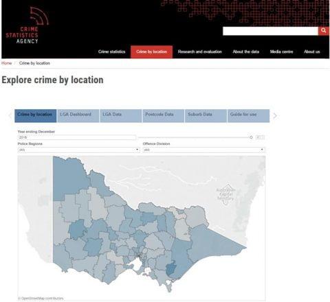 Crime Stats Victoria