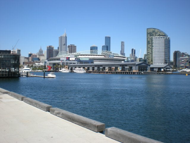 The City As Viewed From Docklands
