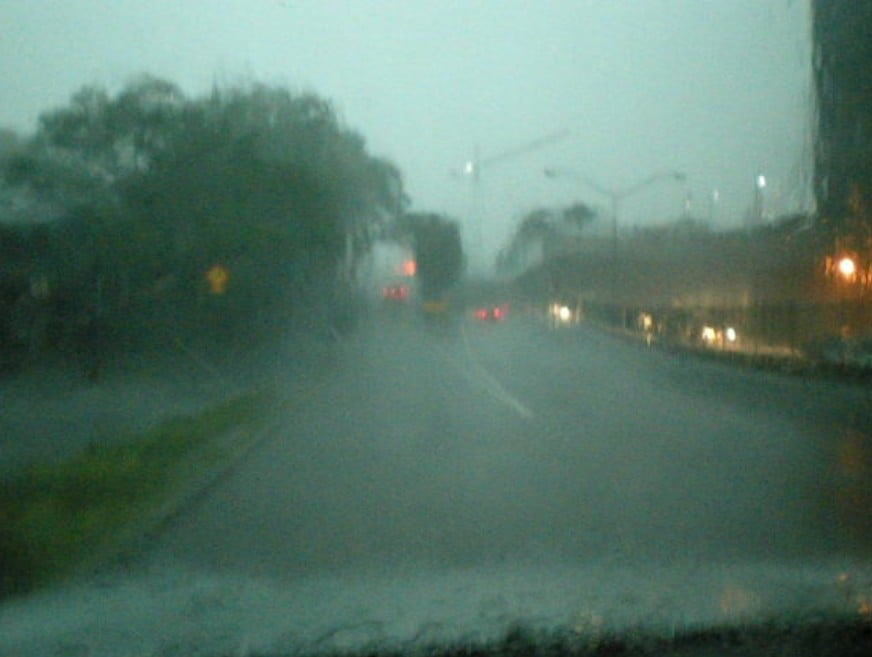 Driving Through Brisbane at 4.45pm