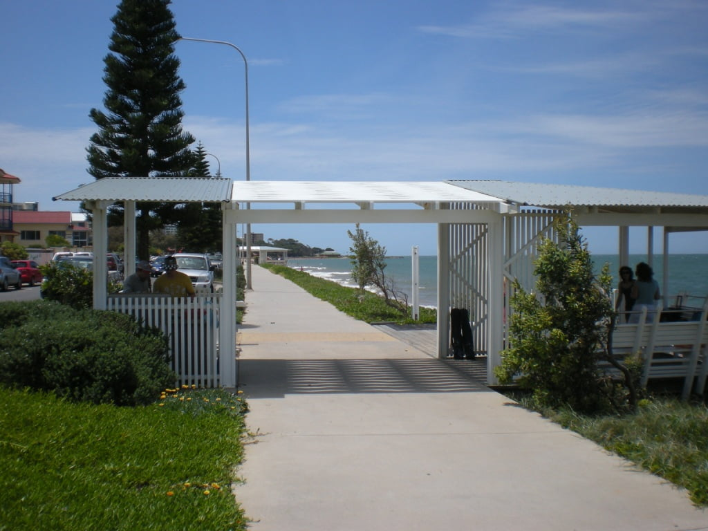 A Free Barbecue Area at Redcliffe