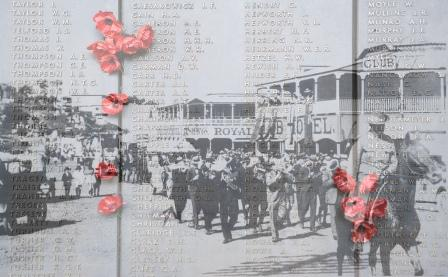 Roll of Honour and the Anzac Day Parade 1925
