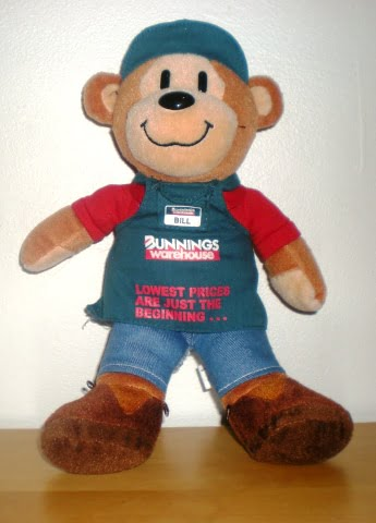 Bill the Bunnings Bear