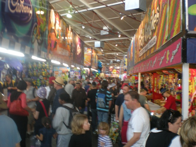 Showbag Shopping at the Ekka