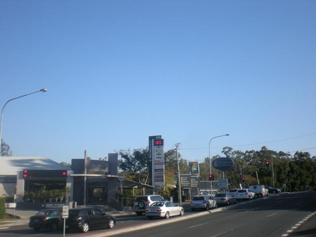 Todays Temperature in Brisbane
