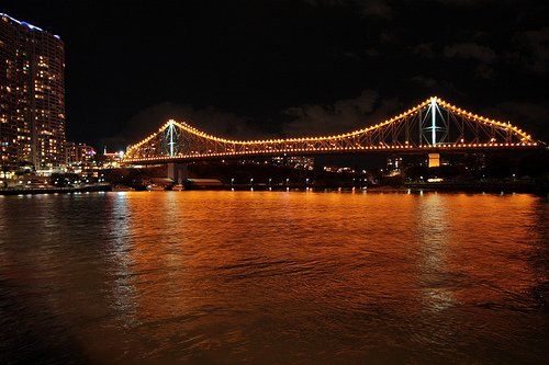 Story Bridge by Night