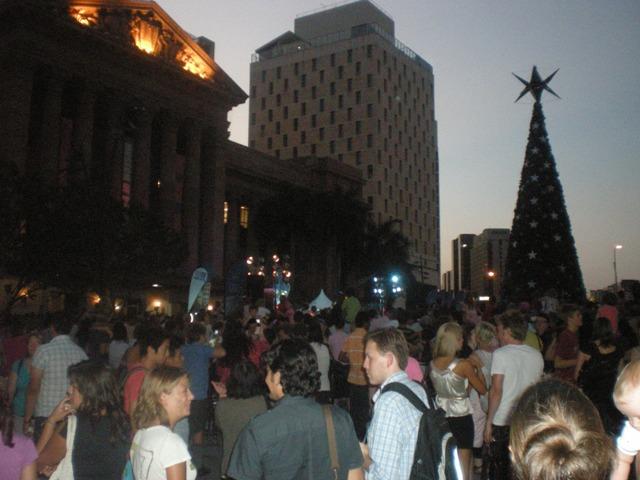Christmas tree - no lights