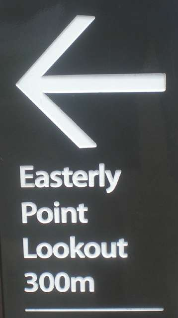 Easterly Point Sign, Byron Bay