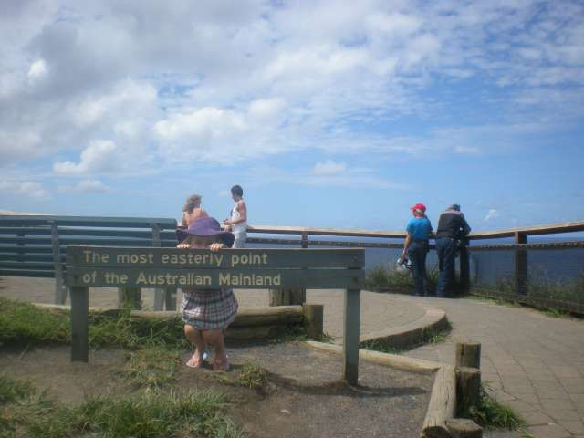 Eastern Point Signpost, Byron Bay