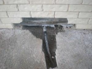 Main water pipe